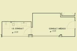 Pavimento 2 - Consultório médico